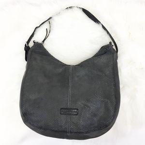 liebeskind | oil black chatsworth city handbag